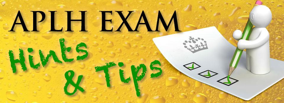 aplh exam tips