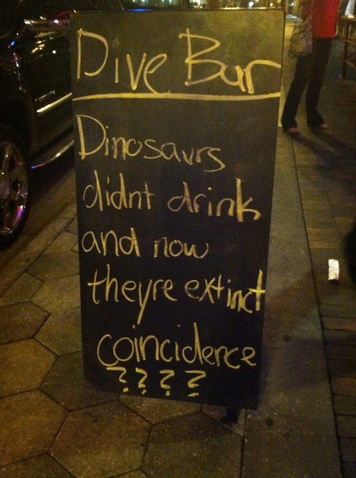 Funny Pub Signs 52 Funniest Pub Restaurant Chalkboards