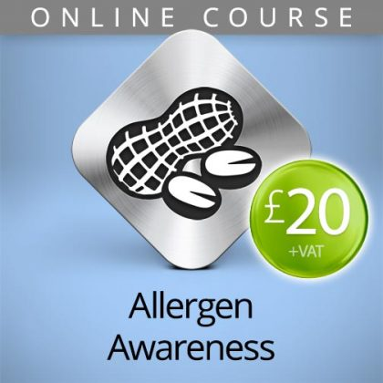 online food allergens course
