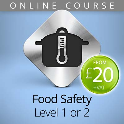 food safety level 1 or 2 online course