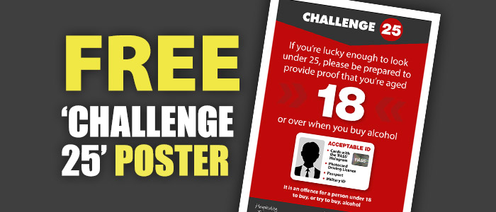 Free 'Challenge 25' Poster