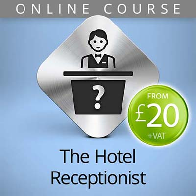 hotel receptionist online course