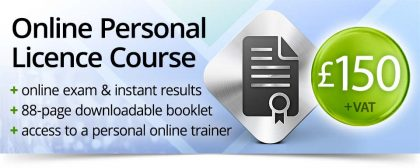 online personal licence course and exam